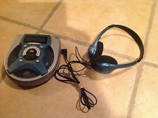 Fisher pcd-3450C Personal CD Player With Headphones 45 secod unti-skip/unti-roll