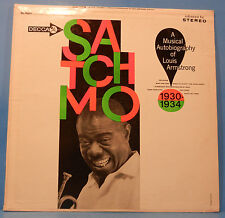 SATCHMO MUSICAL AUTOBIOGRAPHY OF LOUIS ARMSTRONG 1930-34 LP NICE COND! VG/VG+!!