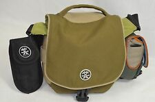 Crumpler 4 Million Dollar Home Messenger Style Camera Bag with Attachments RARE!