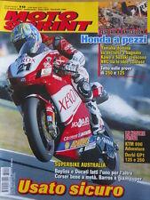 MOTOSPRINT n°10 2006 Test KTM 990 Adventure Derbi GP1 125 e 250   [P72]