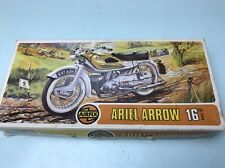 airfix 1/16 02481-1 ariel arrow motorcycle model kit part built parts only