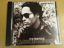 CD / LENNY KRAVITZ - IT IS TIME FOR A LOVE REVOLUTION