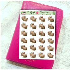 069 | Online Shopping Happy Mail Order Box Delivery HOMEMADE Planner Stickers