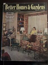 Better Homes and Gardens February 1944 How To Upholster Your Furniture (B)