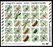 2000 MALAYSIA DRAGONFLIES (IMPERFORATED SHEETLET) MNH