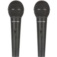 Peavey PVi 100 Twin Pack Handheld Dynamic Cardioid Vocal Microphone