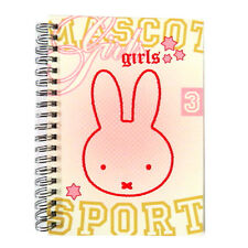 Girls Wirebound Pocket Notebook - Miffy Sport - 100 Pages - Size 170mm x 120mm