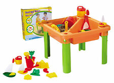 Sand and Water Table with Sandpit Toys Kids Backyard Sandpit Water Play Kit NEW
