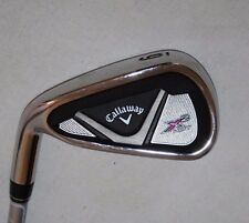 Callaway X2 Hot 6 iron with X2 Hot W flex graphite shaft - LEFT HANDED LADIES