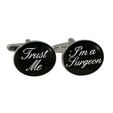 Trust Me I'm A Surgeon Cufflinks in Gift Box medical doctor dr medic surgery BN