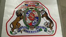 ROYAL AMERICAN SHOWS THE WORLDS LARGEST MIDWAY XL DECAL