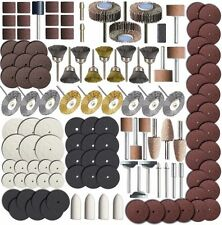 145 PCS Rotary Tool Accessory Set - Fits Dremel - Grinding, Sanding, Polishing