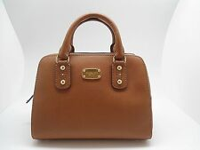 $268 Michael Kors Luggage Saffiano Leather Small Satchel Crossbody Purse Bag NWT