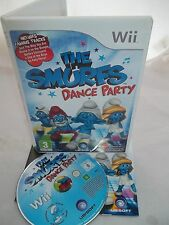 Nintendo Wii Console Game - The Smurfs Dance Party