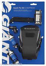 GIANT set riparazione aria compressa bici bike mini tool Quick fix kit Compress