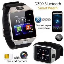 Smart Watch Bluetooth DZ09 Camera SIM Card For Android HTC  Cellphone utility