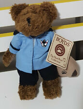 BARNEY BOWLSALOT BOYDS THE HEAD BEAN COLLECTION BOWLING TEDDY BEAR! SOFT TOY!