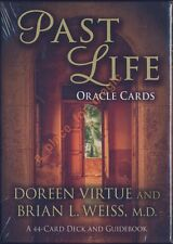 NEW Doreen Virtue Past Life Oracle Cards Deck Brian L. Weiss, M.D.
