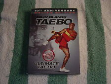 Billy Blanks - Ultimate Tae Bo Deluxe Edition (DVD, 2007) 10th Anniversary
