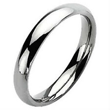 Plain 5mm wide TITANIUM Wedding Ring / Band, size 10 - NEW - in Gift Box!