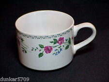 FABERWARE MUG CUP FEATURING ENGLISH GARDEN PATTERN STONEWARE #225