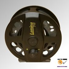 British Fly Reel Lamina 75 Carrete & 2 Carretes Repuesto