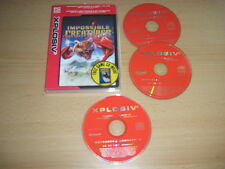 IMPOSSIBLE CREATURES + Motorcycle Madness 2 Pc Cd Rom XP a FAST POST