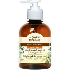 GREEN PHARMACY Reinigungsgel Gesichtgel Aloe Vera ohne Parabene 270 ml