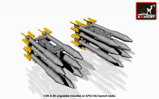 Armory Models 1/48 S-3K UNGUIDED MISSILES with APU-14U RACK Resin Set