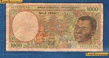 Afrique Centrale - 1000 Francs type 1991 -1993 Sign 15 C Congo Numéro 9355224760