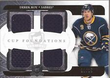 DEREK ROY 2011-12 Upper Deck The Cup Foundations Jersey #/25 Buffalo Sabres