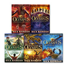Heroes of Olympus Series Children Books Collection Gift Set By Rick Riordan