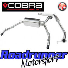 "HN16 Cobra Sport Honda Civic Type R FN2 System 2.5"" Stainless Cat Back Resonated"