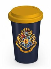 Harry Potter - Hogwarts - Double Wall Ceramic Travel Mug With Silicon Lid