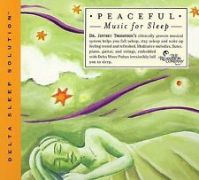Peaceful Music for Sleep by Jeffrey D. Thompson (CD, Jun-2004, The Relaxation...