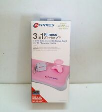NEW Pink Wii 3in1 Fitness Starter Kit for Wii Fit - Power Fit, Massager, Sl