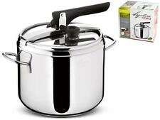 """LAGOSTINA Pressure cooker """"Irradial"""" control lt.7 gal 1.8 Pots and preparation"""