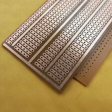 10x Stripboard Prototyping 5x9.5cm platine Single Side circuit board pcb joint