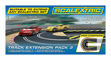 Scalextric Track Extension Pack 3 - 1/32 Scale Slot Car Set C8512