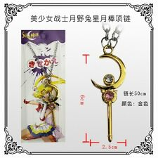 SAILOR MOON NECKLACE MARS JUPITER MERCURY VENUS MANGA COSPLAY CIONDOLO COLLANA 4