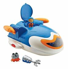 Go Jetters Jet Pad Headquarters Kyan Figure Poseable Arms Playset 3 Years