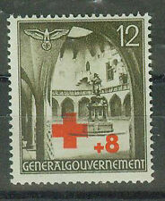 Generalgouvernement Postage Stamps 1940 Red Cross Mi 52