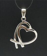 Pendente argento Sterling cuore San valentino 925 CIONDOLO PE000204 EMPRESS