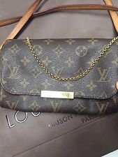 Authentic Louis Vuitton Favorite PM Monogram Crossbody Shoulder Bag