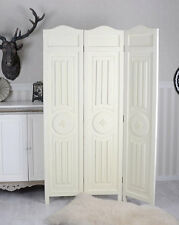 WOOD ROOM DIVIDER CARVED Screen SHABBY CHIC Room Divider ANTIQUE screen