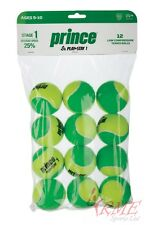 Prince Play + Stay Stage 1 Junior Tennis Balls Dozen