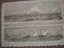 Baro sound and HMS Dauntless 1854 old prints