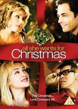 ALL SHE WANTS FOR CHRISTMAS DVD Stave Bacic Brand New Sealed Original UK Release