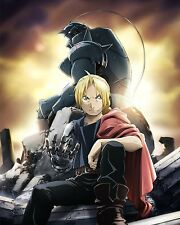 Fullmetal Alchemist Poster Anime Edward Alphonse Wall Art Brotherhood 16x20 in