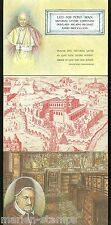 VATICAN CITY LOT OF THREE POST CARDS FIRST DAY CANCELED